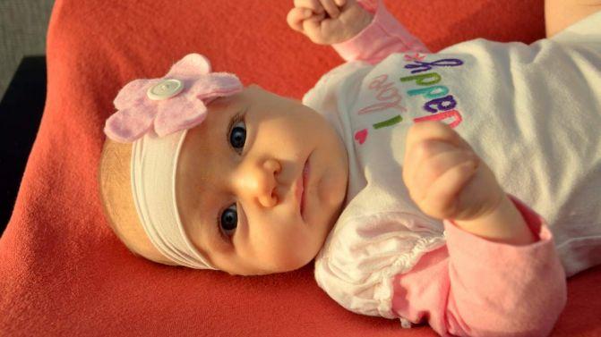Selah B, 2 months