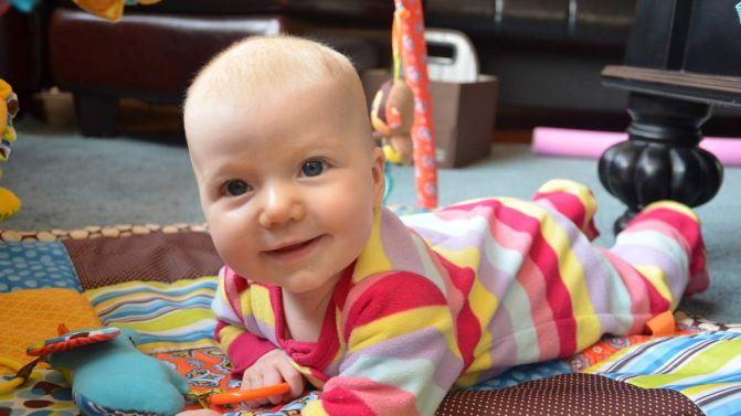 Selah B, 4 months