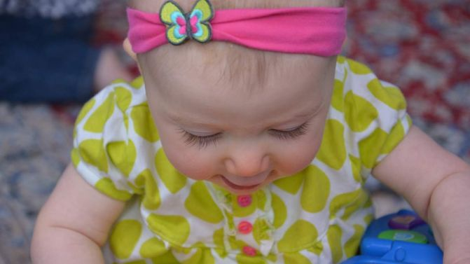 Selah B, 7 months