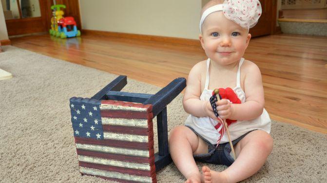 Selah B, 9 months!
