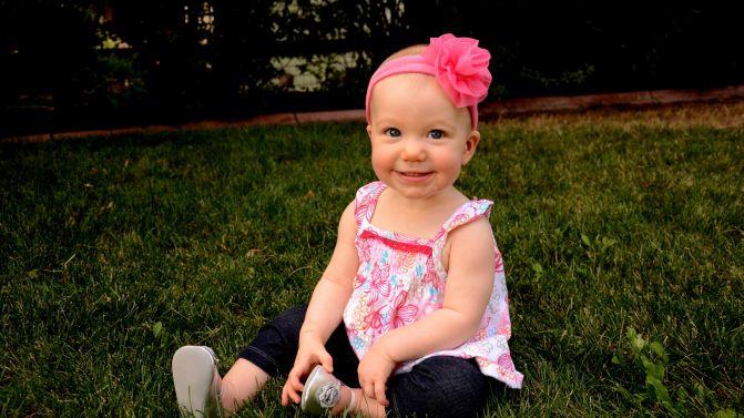 Selah B, 11 months