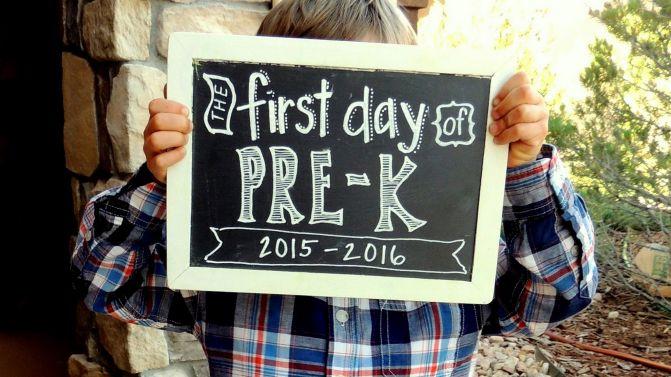 Pre-K Man!