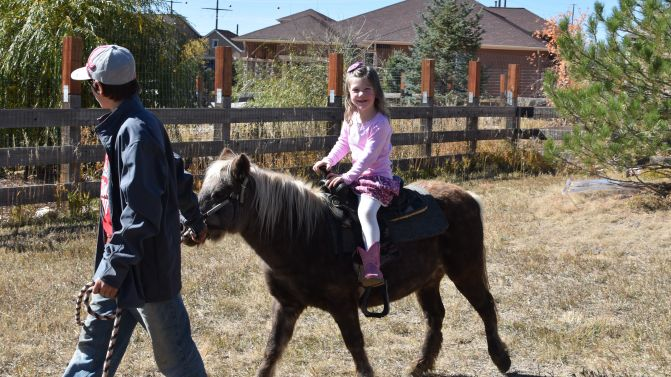 Selah trots into 4 year old land!