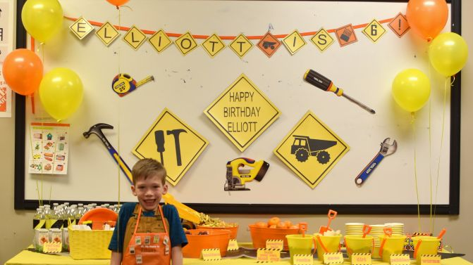 Elliott's 6th Birthday!