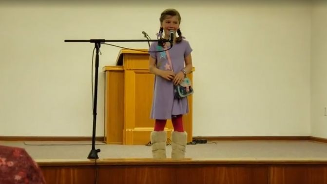 Selah Sings the ABC's with a Twist