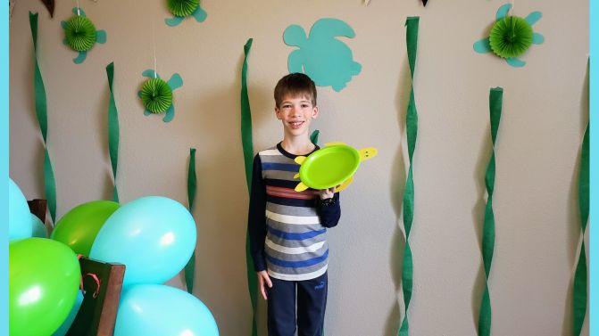 Elliott's Turtley Awesome Ninth Birthday!