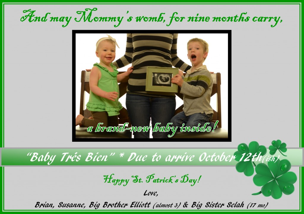 Baby 3 Announcement page 2